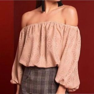 Stone Cold Fox Off Shoulder Top